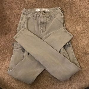 gently used cargo jeggings